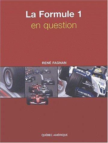La Formule 1 en question