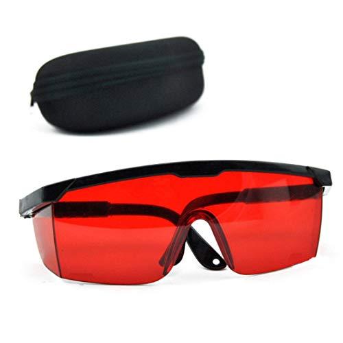 Gafas protección rojas Gafas seguridad láser 190nm