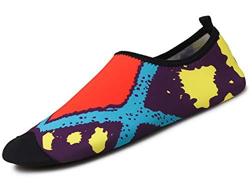 GJRRX Calcetines de Buceo Natación Zapatos de Agua Unisex para Buceo Snorkel Surf Piscina Playa Yoga...