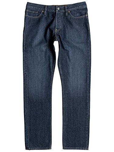 DC Shoes Worker Straight Stone Wash - Jean coupe droite pour Homme EDYDP03297 Gris