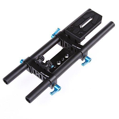 FOTGA DP500 II 15mm Rail Rod Support System für Follow Focus & 5DII III D7000 D5100 D3000 DV DSLR 15 Mm Rod Support