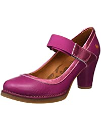 1071 Memphis St.Tropez, Zapatos de Tacón con Punta Cerrada para Mujer, Negro (Black), 37 EU Art