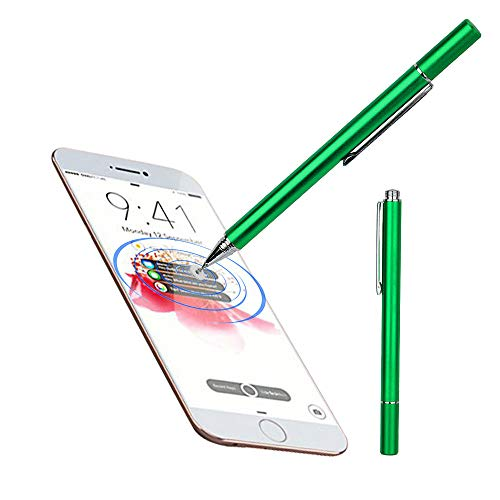 bingT Eingabestift Touchstift Stylus,Hochpräziser Kapazitiver Universal-Touchscreen-Stift für iPhone,iPad,Samsung Galaxy und Andere Kapazitive Berührungsflächen (Grün)