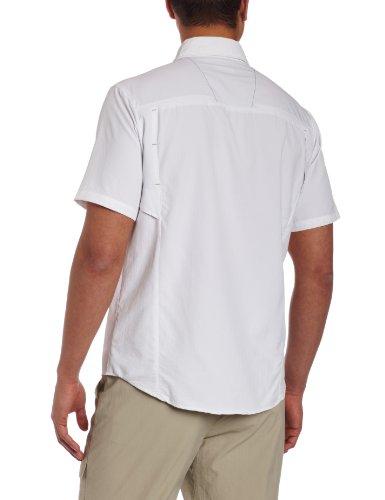 Columbia Herren Hemd Silver Ridge Short Sleeve Shirt weiß