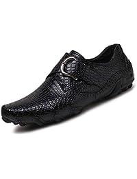 Hombre Botas es Amazon Zapatos Piel Para Los Cocodrilos fR0FwFqx6