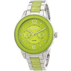 Esprit Women's Quartz Watch marin lucent with Metal Strap