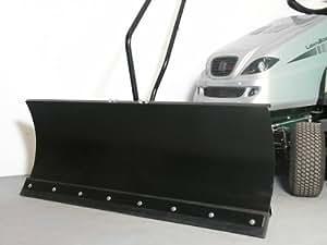 Castelgarden NJ92 Schneeschild, 118 x 50 cm, für Rasentraktoren ID 5292