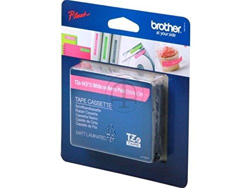 Preisvergleich Produktbild Brother original - Brother P-Touch 2470 (TZE-MQP 35) - P-Touch Farbband weiß auf pink - 12mm x 5m