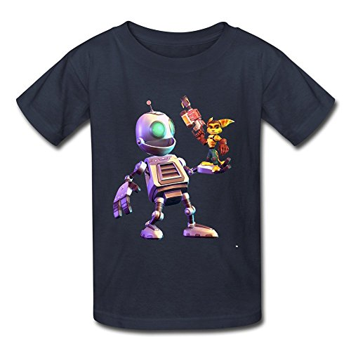 Kid's Artwork from Ratchet and Clank T Shirt Medium