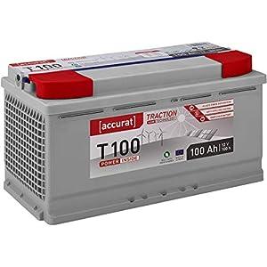 Accurat 12V 100Ah AGM Batterie Auslaufsicher Langlebig und Wartungfrei in 6 Varianten