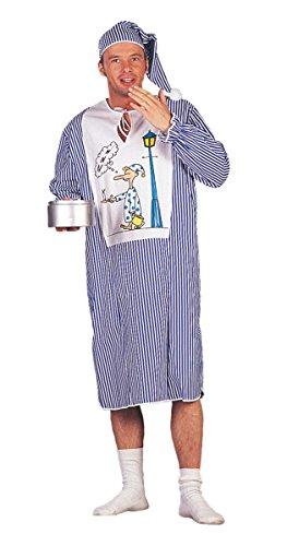Herren Kostüm Nachthemd Schlafwandler Karneval Fasching - Nachthemd Kostüm