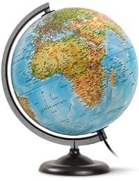 JPC Globe en kit prêt à monter lumineux sphère 30 cm Bleu