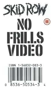 Skid Row - No Frills Video [VHS] [1993]