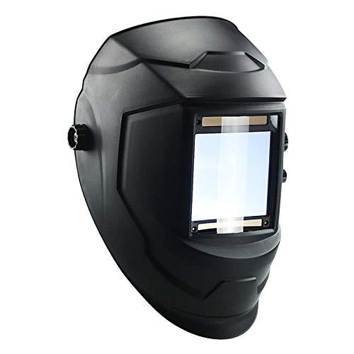 DvfeeL Big View Eara Schweißhelm 4 Lichtbogensensor DIN5-DIN13 Solar Auto Verdunkelungsbrille