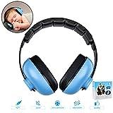 Casque anti-bruit pour bébé avec réduction du bruit - Bandeau réglable - Protection auditive pour bébés de 0 à 3 ans, multicolore
