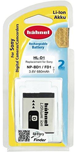 T200 Kamera (Hähnel HL D1 3,6V 680mA Ersatzakku Typ NP-BD1 für Sony DSC -T2, T70, T200)