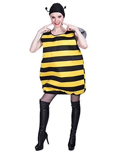 EraSpooky Dicke Biene Kostüm für Erwachsene