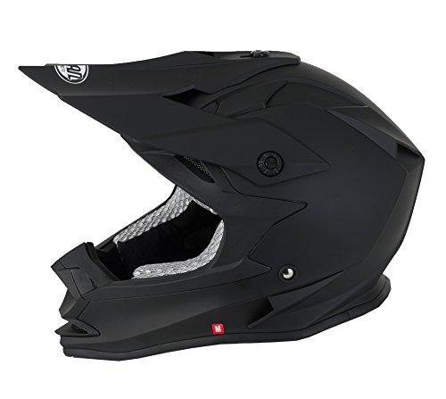 Vcan V321 Offroad/motocross/ATV - Casque Noir mat