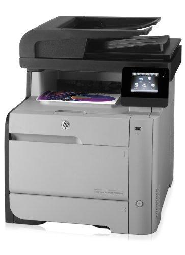 HP MFP M476nw Color LaserJet Pro Farblaserdrucker (Drucken, scannen, kopieren, faxen, 600x600 dpi, USB 2.0) (ML) grau/schwarz