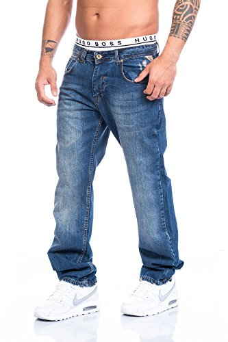 Rock Creek - Jeans - Jambe droite - Homme Bleu