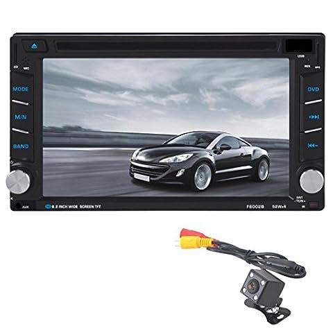 15,7cm Auto Navigation Stereo, C 'est 2DIN Auto Stereo HD