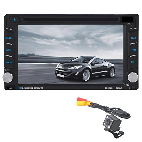 C 'est Touchscreen Universal Autoradio 2 Din KFZ Stereo In-Dash DVD player GPS Navigation unterstützt Bluetooth/USB/SD + Kamera Dvd-player Auto-bluetooth