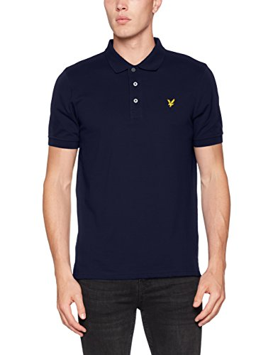 Lyle & Scott Herren Regular Fit Poloshirt blau (marineblau)
