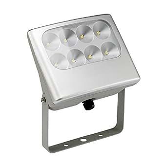 LEDs-C4 05-9652-34 M2-Projecteur shull 8xled cree 17w gris