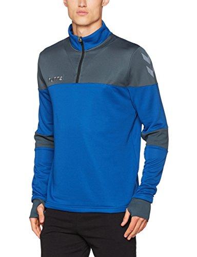 Hummel Herren Sweatshirt Sirius Half Zip True Blue/Dark Slate