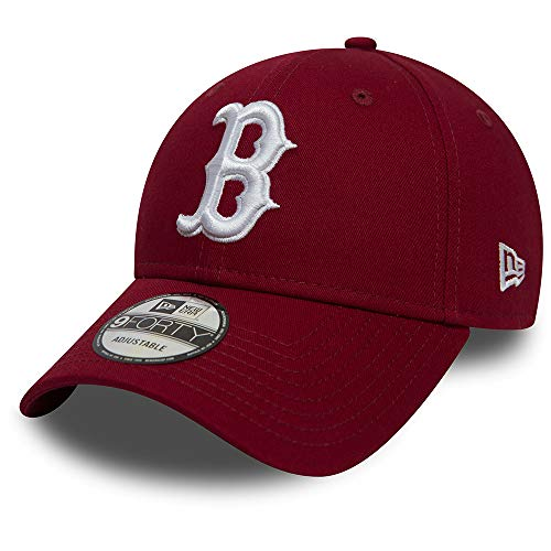 0fae507e2 A NEW ERA Era Boston Red Sox 9forty Adjustable Cap League Essential  Cardinal/White -