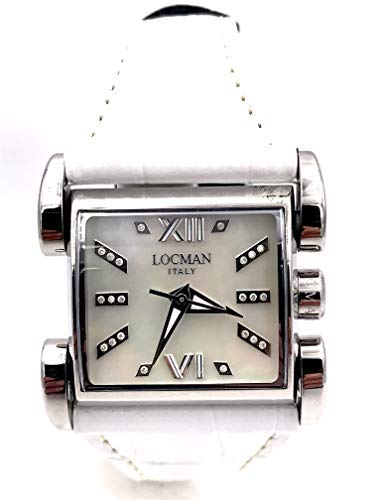 LOCMAN Latin Lover REF506 White 22 Diamonds CT0,10 List Price