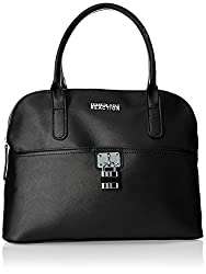 Kenneth Cole Reaction Tourist Dome Womens Handbag (Black) (KN1573/08)