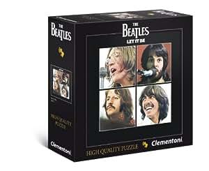 Clementoni 21303.0 - Puzzle - Beatles - Let It Be - 289 Pièces