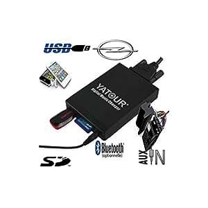 Adaptateur Interface Autoradio iPod Aux Bluetooth Opel - CPA-M06 - USB carte SD Auxiliaire (0,00 €), Interface Bluetooth additionnel seul (60,00 €)