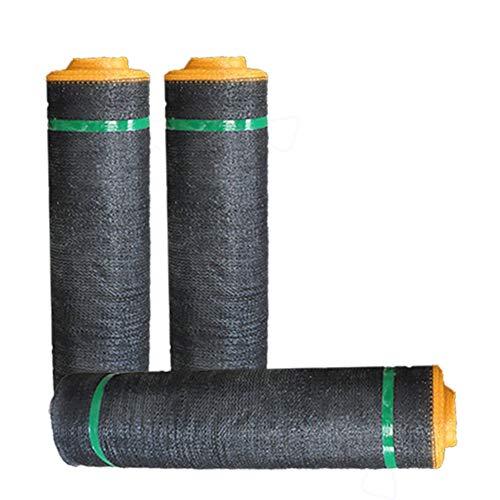 Jianfei rete parasole serre antivento giardino campo vegetale resistente agli strappi resistente alla corrosione, 9 taglie, 3 tipi (colore : 3-black, dimensioni : 4x50m)