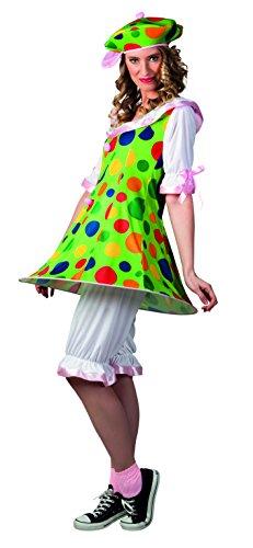 Boland 83827 - Clown Fiesta Costume Donna, Multicolore, M