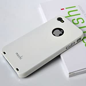 Iphone 4 4g 4s Moshi White Case Back Cover Case