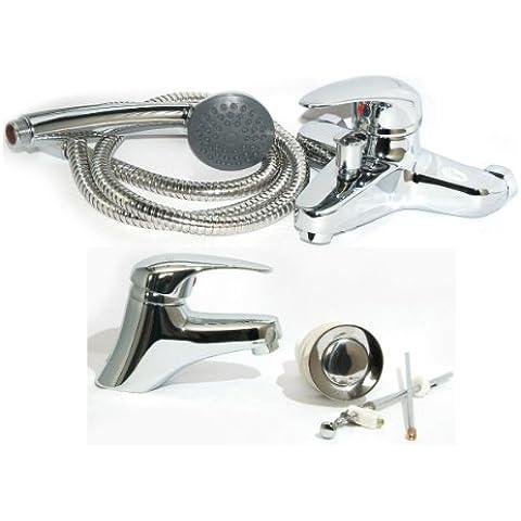 Rubinetto-set bagno lavabo-rubinetto + rubinetto vasca da bagno