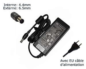 """AC Adaptateur secteur pourSony Vaio VPCEB3C4R VPCEB3C5E VPCEB3D4E VPCEB3D4R VPCEB3E1R/BQchargeur ordinateur portable, adaptateur, alimentation """"Laptop Power (TM)"""" de marque (avec garantie 12 mois et câble d'alimentation européen)"""