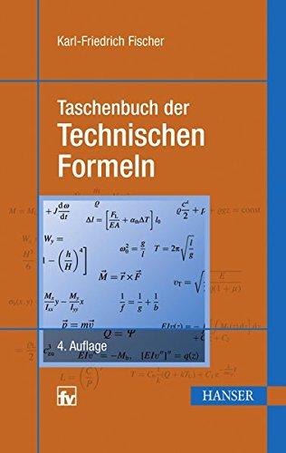 Taschenbuch der Technischen Formeln