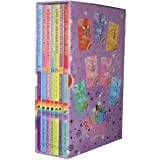 Rainbow Magic Magical Animal Fairies (71-77) 7 Books Box Set Pack Collection RRP: 27.93 (Ashley the Dragon Fairy, Lara the Black Cat Fairy, Erin the Firebird Fairy, Rihanna the Seahorse, Sophia the Snow Swan, Leona the Unicorn, Caitlin the Ice Bear) (Rain