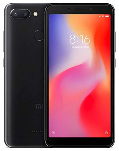 Xiaomi 6941059613497Redmi 6EU Memoria Smartphone, 3GB RAM, 64GB ROM, IPS LCD 13, 8cm (5,45Pulgadas), Color Negro
