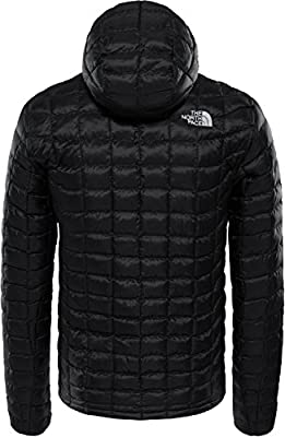 THE NORTH FACE Herren Thermoball Jacket M Thrmbll Hd JKT TNF Black von The North Face - Outdoor Shop