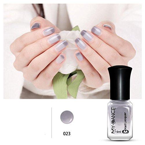 Preisvergleich Produktbild Temperatur Farbwechsel Nagellack mingfa. Y Chameleon Lack Abziehen Lack Sexy Kosmetik