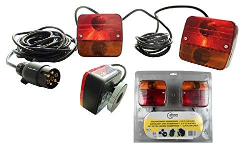 Beleuchtungsset Anhänger Rückleuchten Magnetisch Heckleuchtenset mit - Anhänger Magnetische