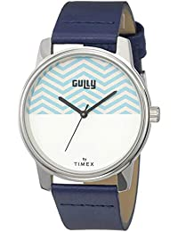 Gully by Timex Nautical Analog White Dial Men's Watch-TW000V816