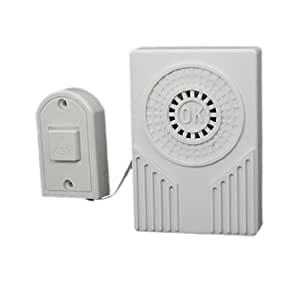 sourcingmap Battery Powered Electronic Plastic Doorbell Chime Bell