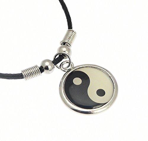 color-plata-metlico-smbolo-de-yin-yang-colgante-de-collar-de-cordn-collar-de-longitud-de-aproximadam