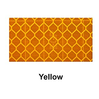 10m x 50mm Yuzet Yellow high Intensity Reflective Tape Diamond Micro Prismatic Engineering Grade EGP