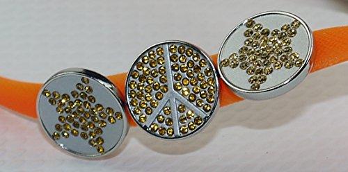 COVY'S jandals orange/white #5110 women (Zehentrenner, Sandale, DIY, Pins) Orange/White
